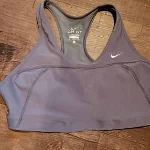 Nike Sports Bra Grey XL